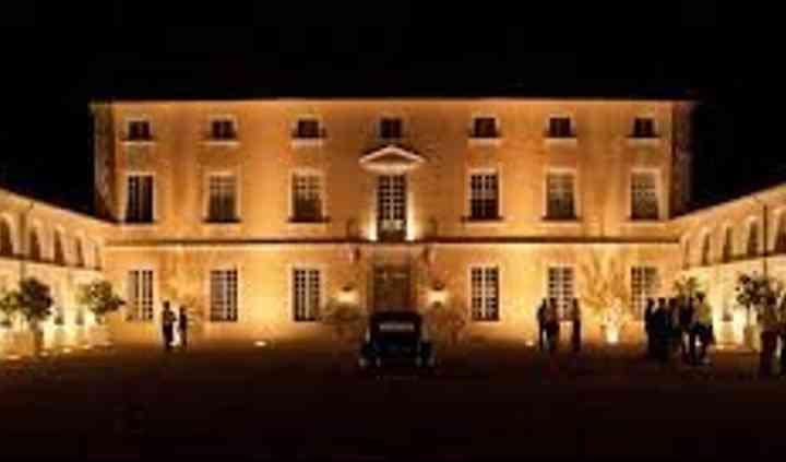 La Cour du Château la nuit