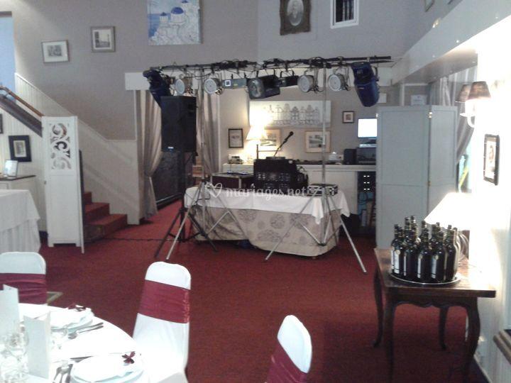 Sonorisation salon de receptio