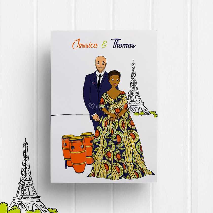 Faire Part Mariage Africain 101mariage