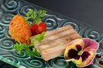 Millefeuille de foie gras sur L'O � la bouche