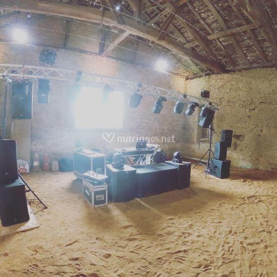 Installation DJ/équestre :)
