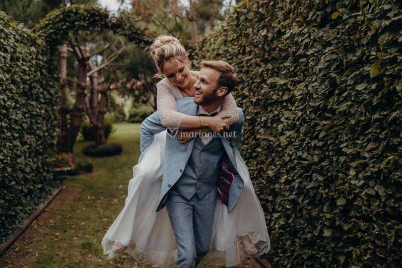 Les jolis mariés