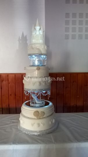 Wedding cake Disney