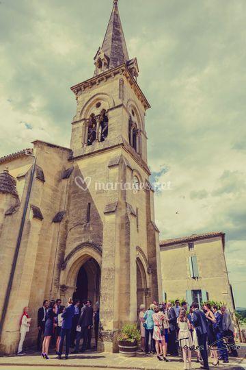 L'église d'Auros
