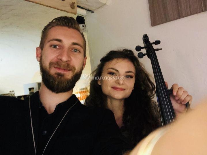 Duo DJ / Violon 2018