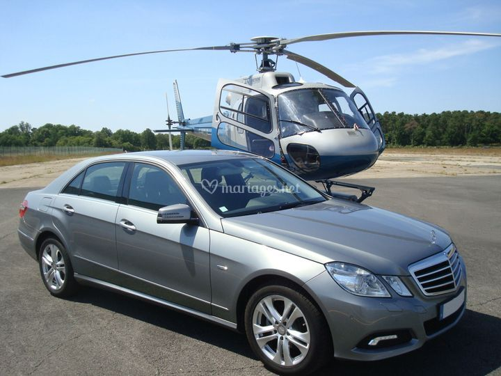 Mercedes helicoptere