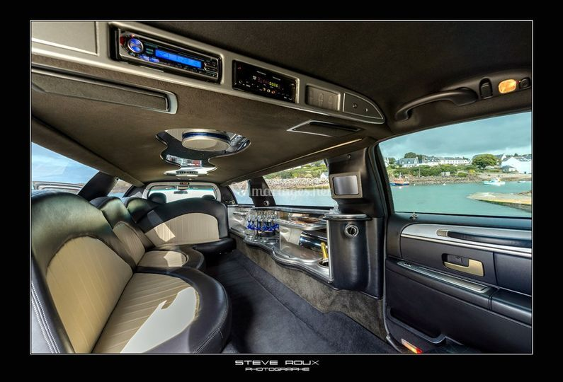 limo grise interieur de klassic limousine photo 1. Black Bedroom Furniture Sets. Home Design Ideas