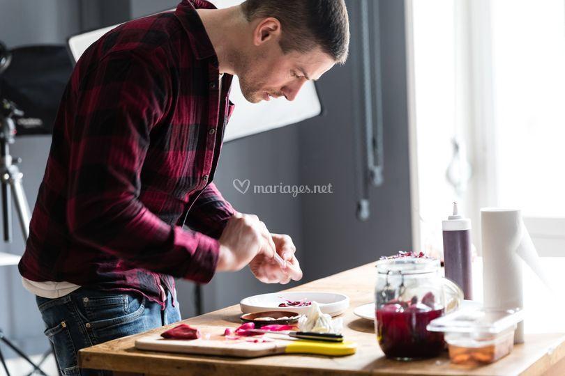 Dressage cours photo culinaire