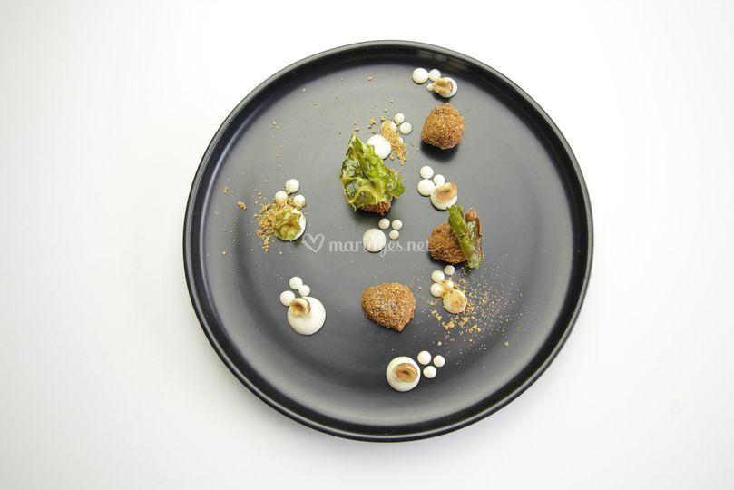 Oeufs de caille - noisettes