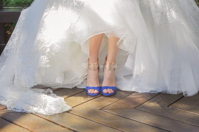 Détail de la mariée