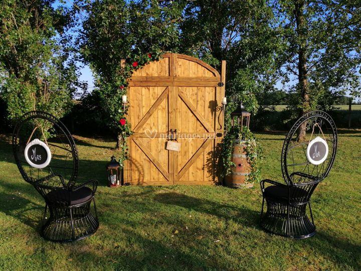 Arche portes de grange