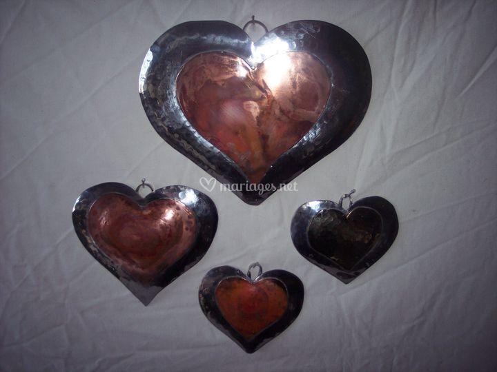 Coeur Cuivre Etain