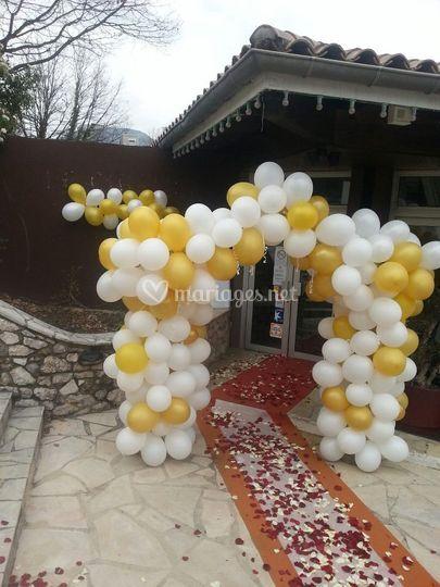 Arche ballon