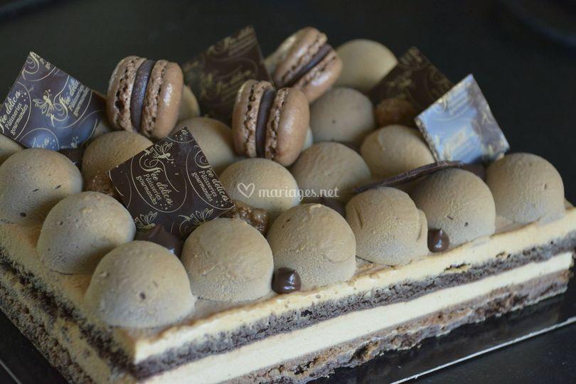Entremet 3 chocolat