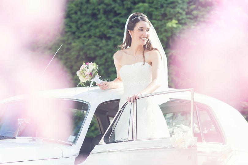 Mariée voiture de location