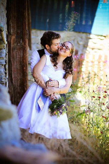 Scène photo de couple