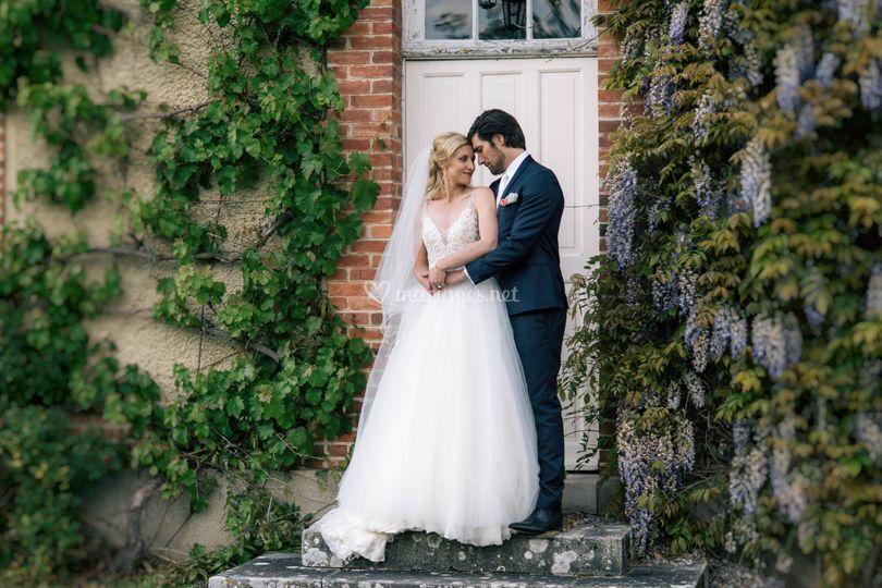 Les magnifiques mariés