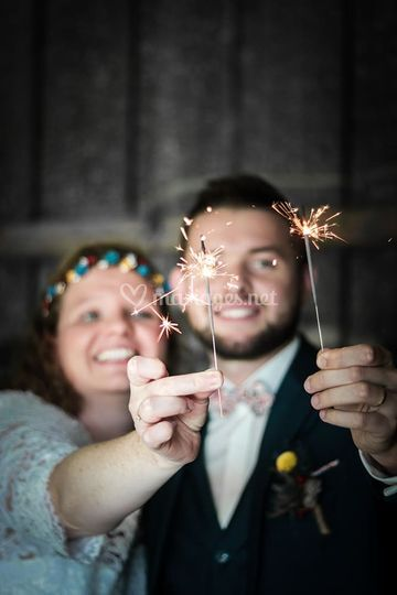 Un mariage pétillant !