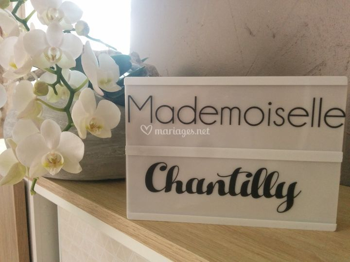 Mademoiselle Chantilly
