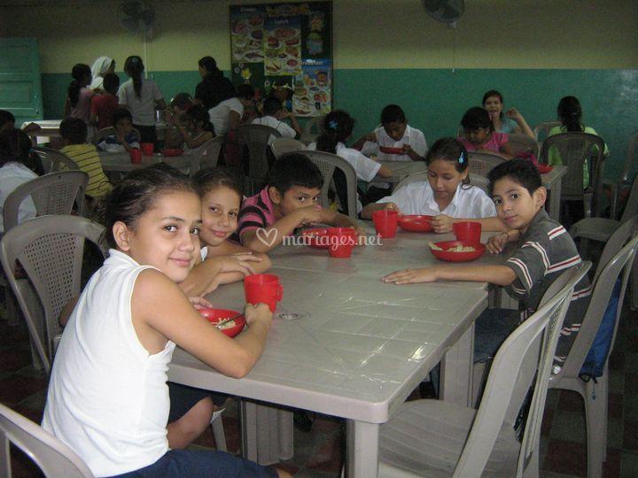 Manger au Salvador