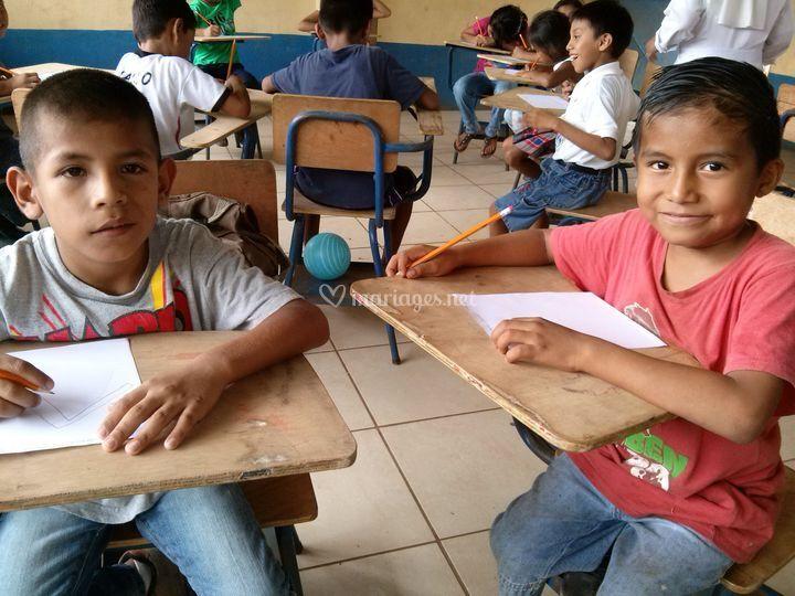 Scolariser au Guatemala