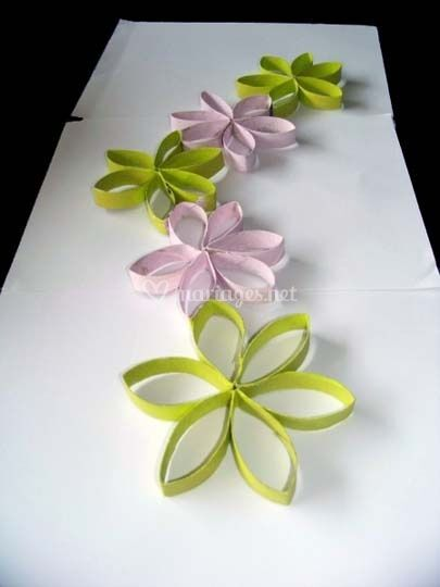 Fabriquer des fleurs pour vos centres de tables - Idee deco de table pas cher ...
