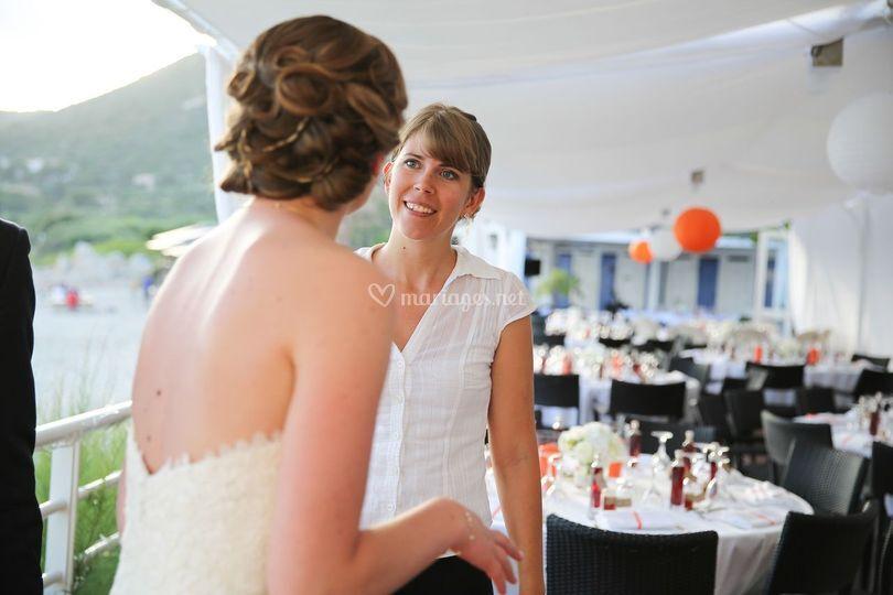 La mariée et moi!