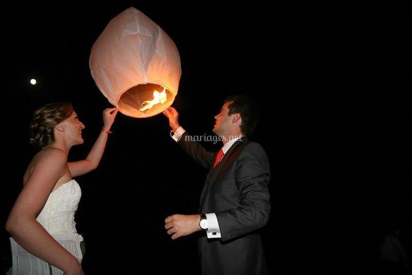 Laché de lanternes