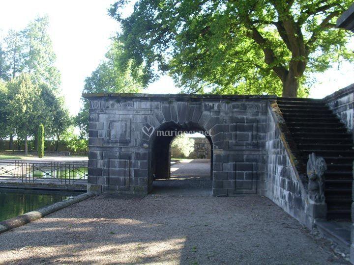 Terrasse du château