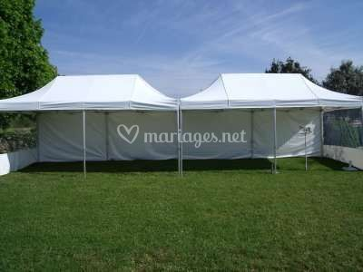 2 Tentes mariage 3x6m