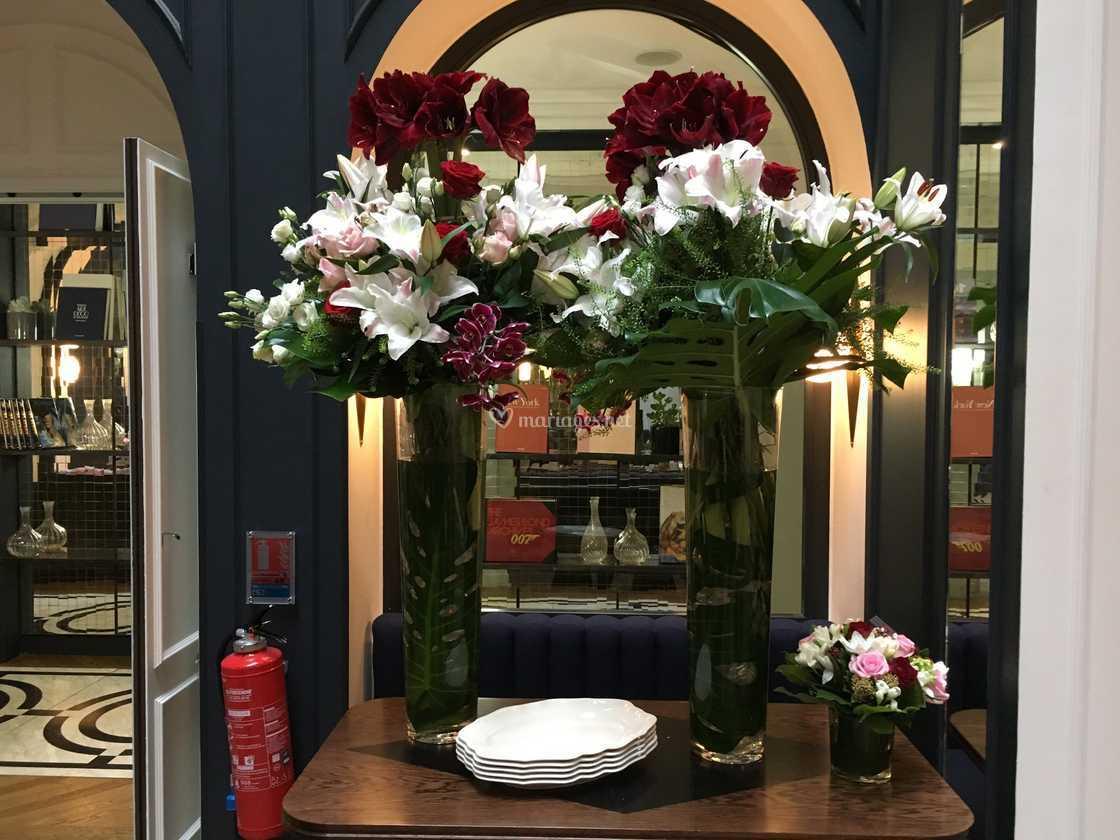 Centres De Table Mariage De L Histoire D Une Fleur Photo 1