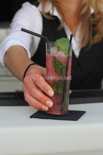 Service cocktails