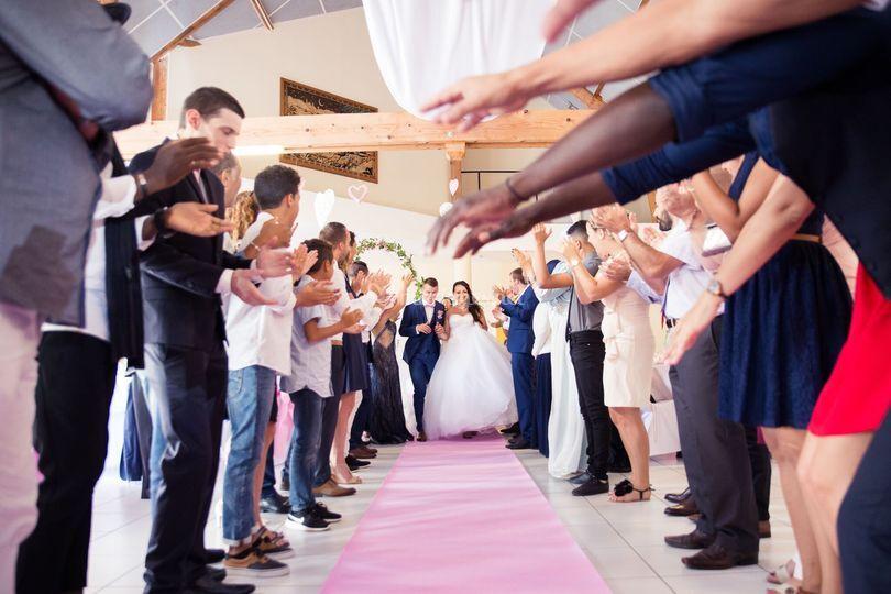 Entrée mariés unique