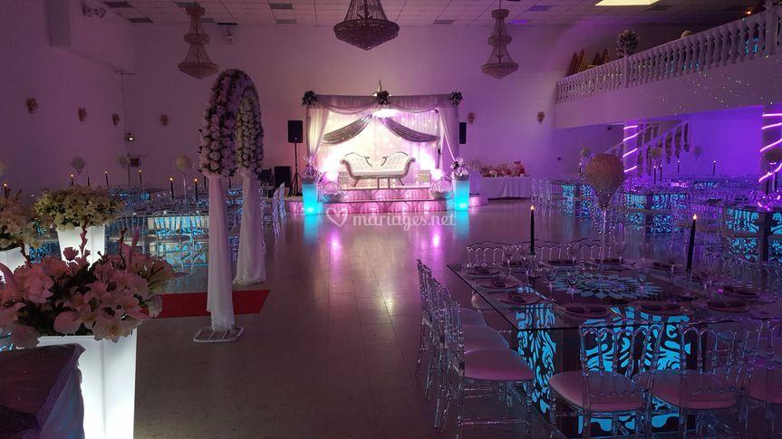nouvelles tables lumineuses sur espace melinda - Salle De Mariage Epinay Sur Seine