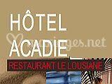Hôtel Acadie logo