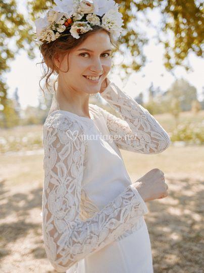 Robe de mariée iris - myphilo