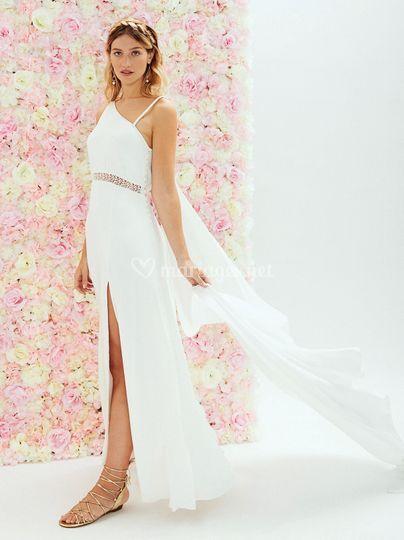 Robe de mariée déesse grecque