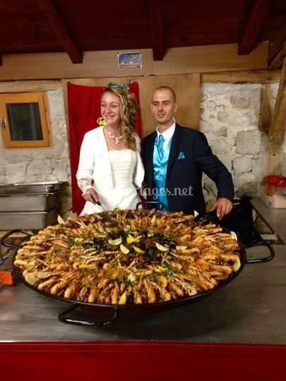 Paella mariage
