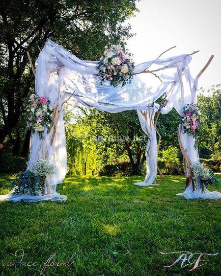 Houppa des mariés