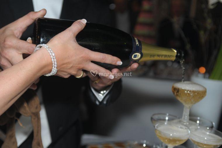 Cascade de champagne