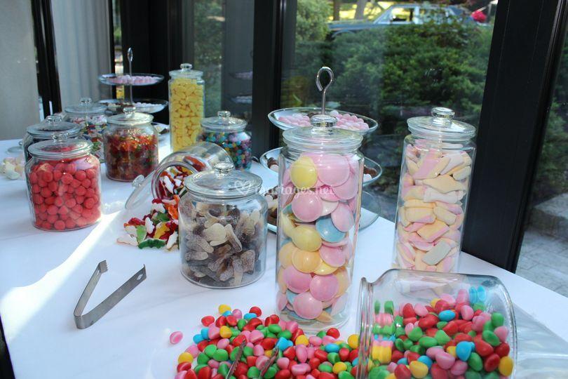 Nos bars à bonbons