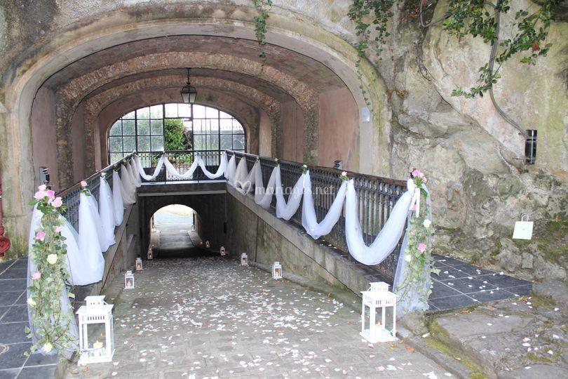 Notre tunnel d'accès parking