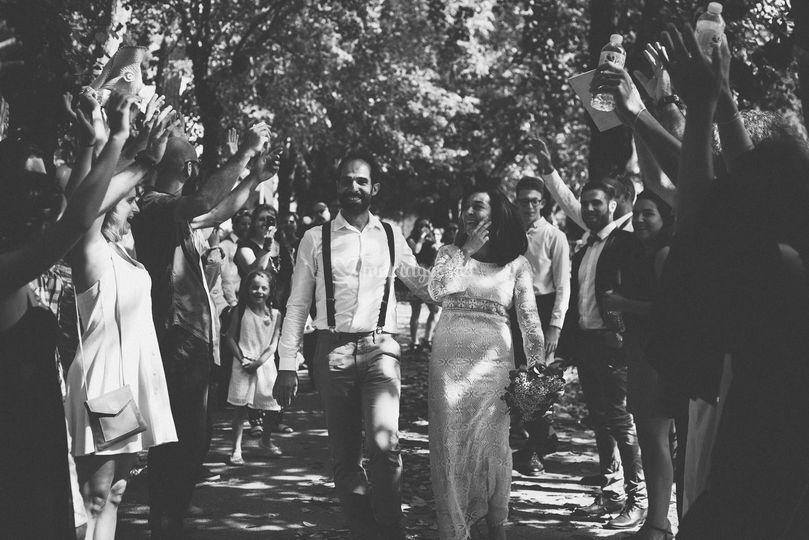 Mariage Boho dans le bordelais