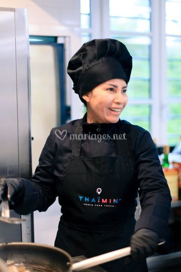 Notre Chef ThaÏ Sandy