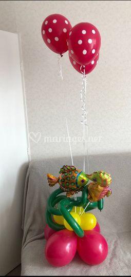 Bouquet thème marin