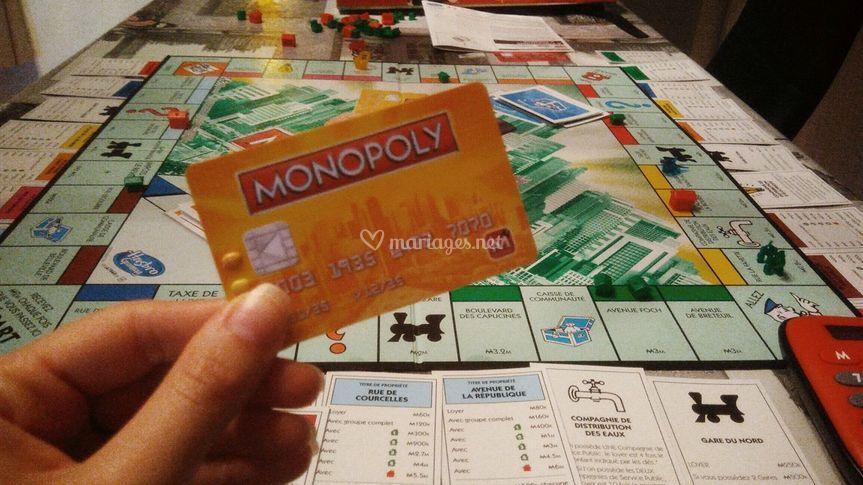 Monopoly avec les enfants
