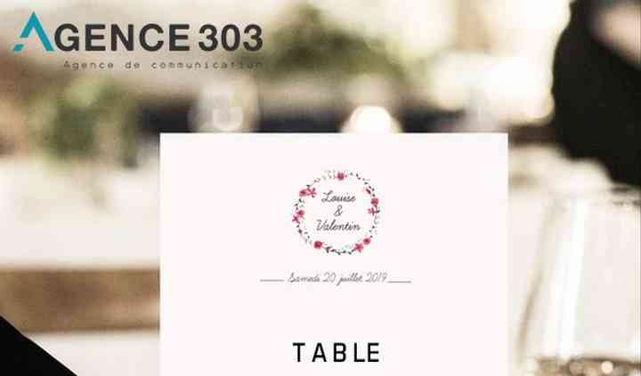 Marque-table