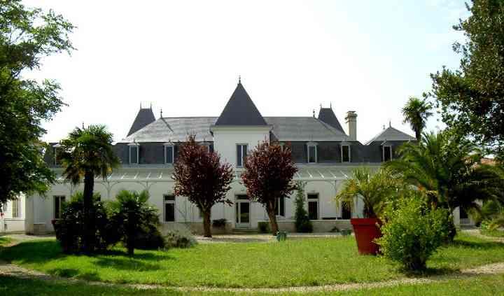 Château sur jardin