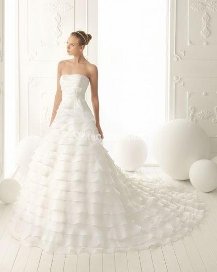 Robes de mariées Aire Barcelona Collection 2013