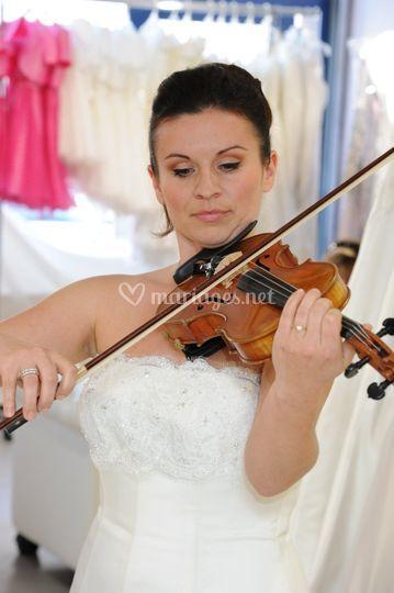 Mariée violon